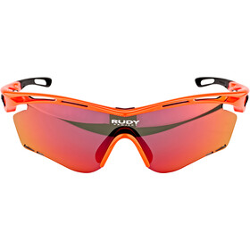 Rudy Project Tralyx Bril, red fluo gloss/multilaser orange